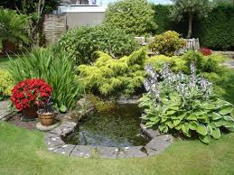 small gardens with pond write teens