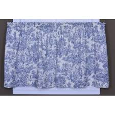 Toile Cafe Curtains Toile Valances Kitchen Curtains You Ll Wayfair