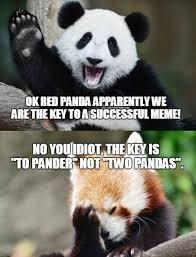 Panda Mascara Meme - 84 stupid panda memes