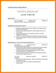 exle resume for college internship 10 college internship resume letter adress