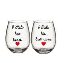 his hers wine glasses 44 best wine glasses images on wine