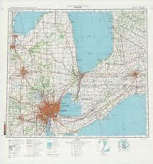 map usa detroit russian soviet topographic maps detroit usa 1 500
