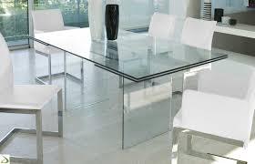 tavoli design cristallo tavolino in cristallo trasparente allungabile miami arredo