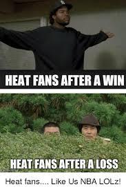 Heat Fans Meme - heat fans after awin heat fans after a loss mgflip heat fans like us