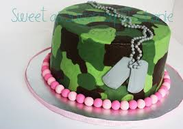 baby shower cake hunting sweet as sugar by stephanie camo cake