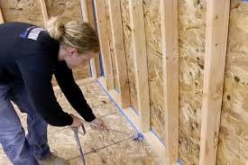 air sealing and insulation can why air seal buildings and homes ecoseal plus by knauf insulation