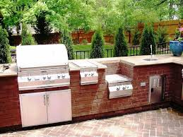 small outdoor kitchen island awesome outdoor kitchen kits canada