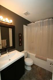 Bathroom Shower Curtain Rod Curved Shower Curtain Rod Bathroom Eclectic With Charcoal Tile