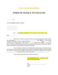notice to tenant u0027s of sale realcreforms
