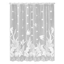 seascape shower curtain u2013 heritage lace 6155w oc lace curtain store