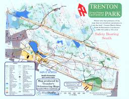 Bates College Map Trenton Park