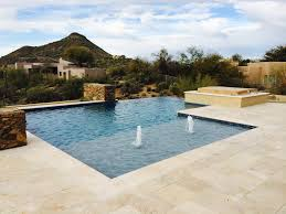 Awesome Negative Edge Pool Design Contemporary Decorating Design