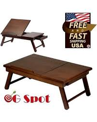 Laptop Desk Bed Amazing Savings On Winsome Folding Laptop Table Desk