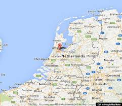 where is amsterdam on a map amsterdam on map of netherlands easy guides