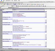 List Of Spreadsheet Software 2005 Backpacking Light Trip Planning Spreadsheet Contest Entries