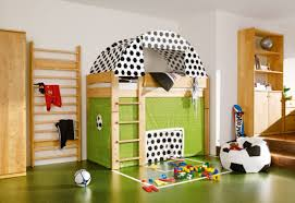 toddler room decor ideas red sofa in corner equipped kids