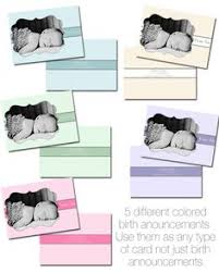 free birth announcement template for photographers and