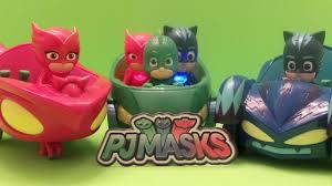 pj masks toy showcase cars u0026 vehicles pjmasks pjmasks