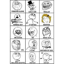 List Of Meme Faces - all different meme faces image memes at relatably com