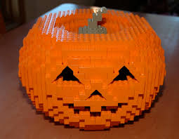 halloween legos lego pumpkin 2 finished pumpkin jason penn flickr