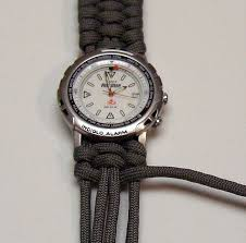 survival bracelet watches images Make a paracord watch the readyblog jpg