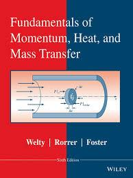 fundamentals of momentum heat and mass transfer sixth edition