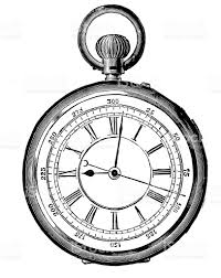old watch19th century stock vector art 187057807 istock