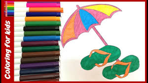 coloring sheets for teens how to color umbrella printing on the