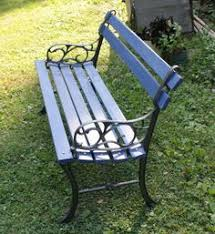 Wrought Iron Bench Wood Slats Diy How To Restore A Cast Iron And Wood Garden Bench Wrought