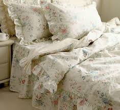 nordic floral bedding set 4 pc vintage beautiful country style