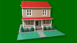 custom build lego simple farm house cc youtube
