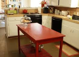how to build a kitchen island with cabinets diy kitchen island