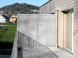 sch co balkone balkon sichtschutz aus glas beautiful home design ideen
