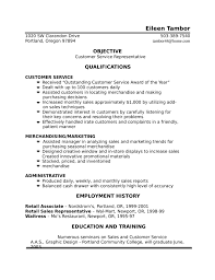 One Page Resume Sample by One Page Customer Service Representative Resume Template
