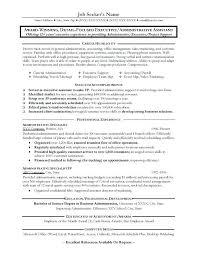 Medical Administrative Assistant Skills Resume Sample Of An Administrative Assistant Resume Great Administrative