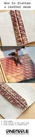 No Sew Project How To - best 25 sewing leather ideas on pinterest leather working