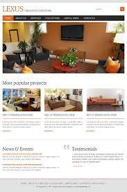 lexus india furniture interior and furniture responsive website design template buy