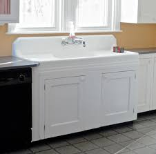 SoPo Cottage Creating A Showpiece Of Our Antique Kitchen Sink - Old fashioned kitchen sinks