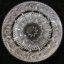 glass egg plate duncan miller sandwich glass 12 deviled egg plate sold ruby