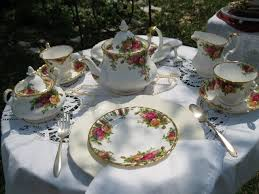 royal albert country roses china tea set katherine tea
