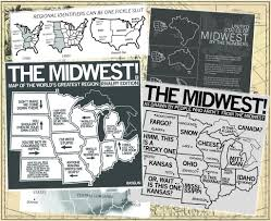 Map Of The Midwest Maps Of The Midwest U2013 Raygun