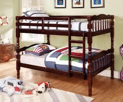 Catalina Espresso Oak Or Cherry Finish TwinTwin Bunk Bed W - Espresso bunk bed