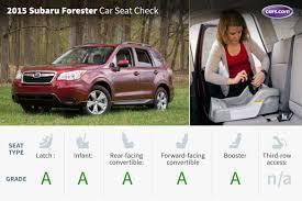 subaru forester car 2015 subaru forester car seat check news cars com