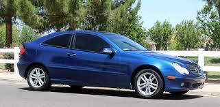 2003 mercedes c230 kompressor coupe beautiful blue mercedes supercharged c230 coupe