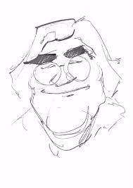 digital caricature live sketch on ipad pro apple pencil