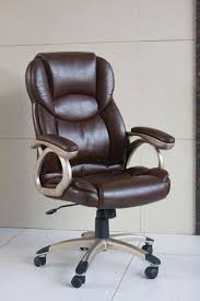 Most Comfortable Executive Office Chair Design Ideas Chocolate Brown Grain Leather Executive Office Chair With