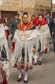 traditional celebrations carnaval de animas villar pedroso