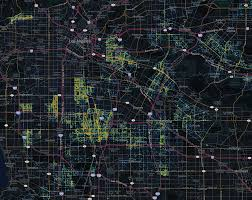 Chicago Crime Heat Map by Los Angeles Narcotics