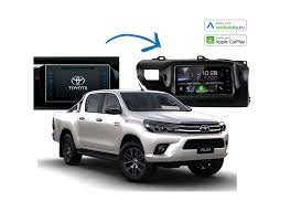 complete stereo upgrade kits toyota hilux 2014 2017 models sydney