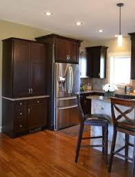 karman brand rustic hickory cabinets